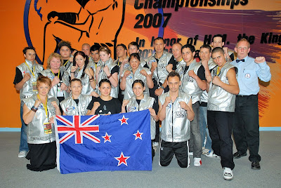 MuayThai IFMA Sue Latta New Zealand