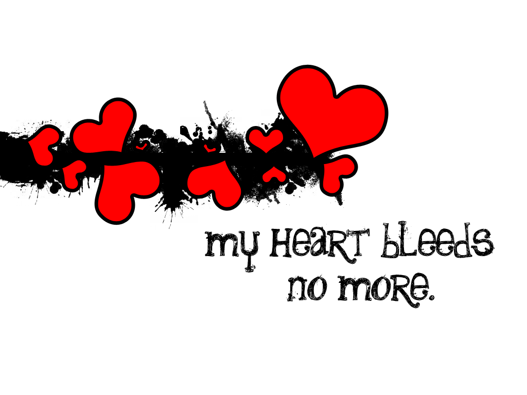My Heart Bleeds No More by LoveIsSoul