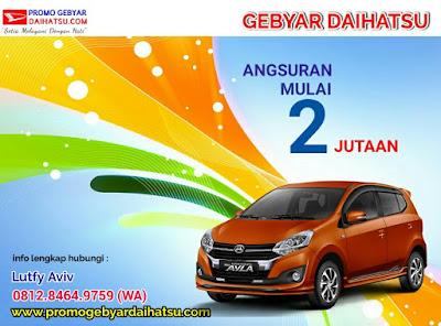 Promo Kredit Daihatsu Ayla Murah di Jakarta Timur