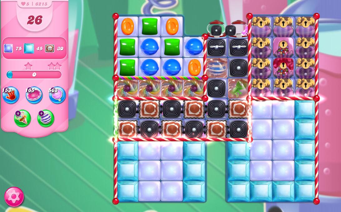 Candy Crush Saga level 6215