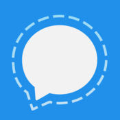 Signal Private Messenger App for iOS