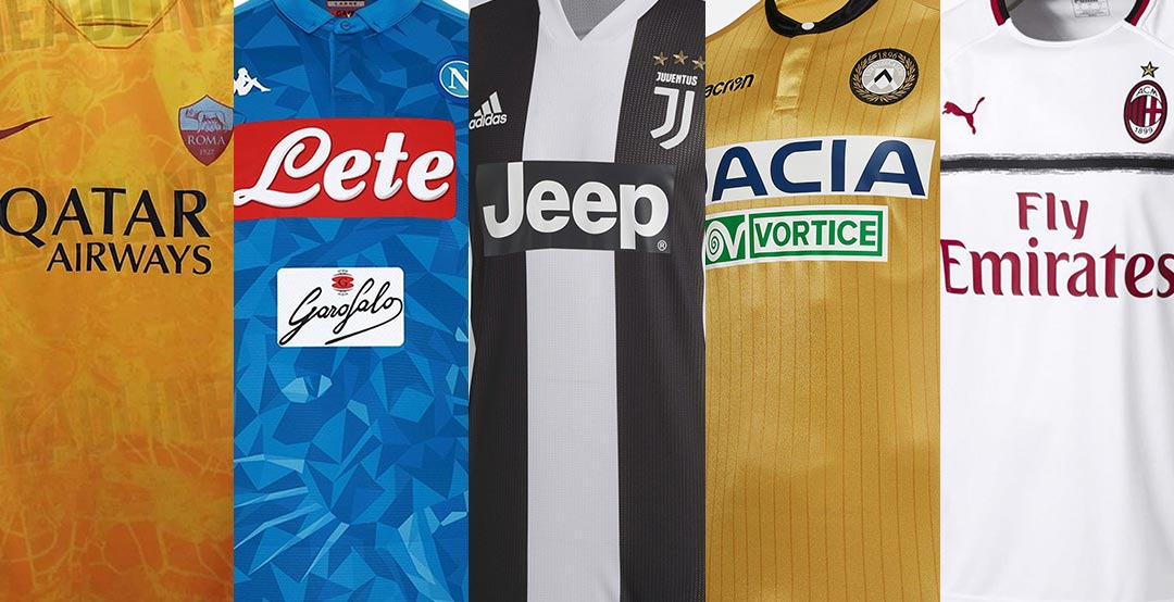 the best attitude 3794f 313ff OVERVIEW: All 18-19 Serie A Kits - Footy Headlines