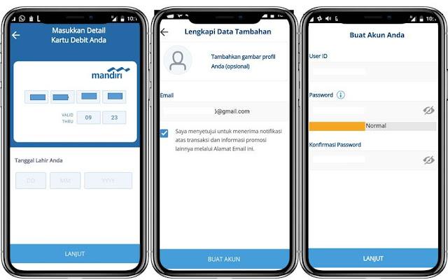 Cara Mendaftar Mobile Banking Mandiri - Blog Mas Hendra