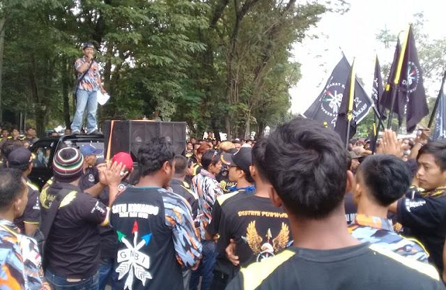 GMBI Ancam Laporkan Kasus SPPD Purwakarta Ke KPK