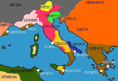 Biografias y batallas: Pueblos antiguos de Italia:Ilirios