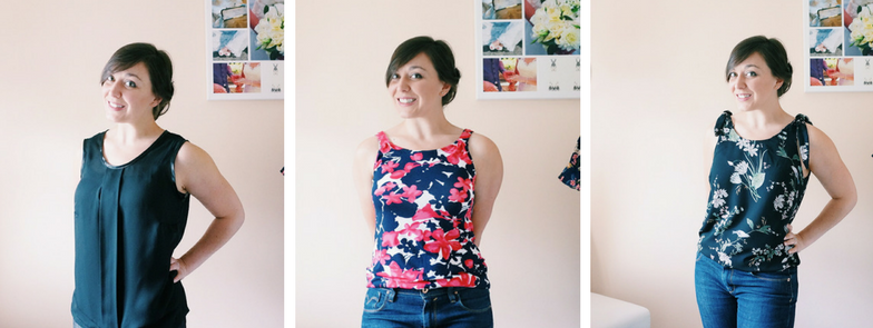 June's #wardrobebuilder project; a trio of vests
