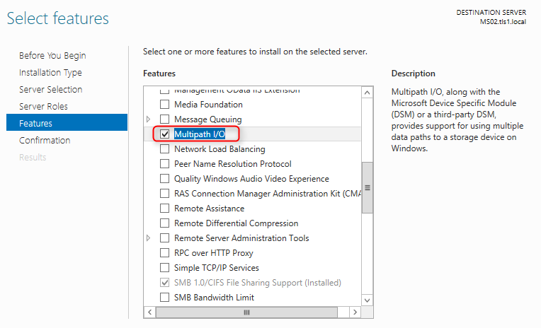 Terry L@u's blog: Configure iSCSI connections with MPIO on Windows