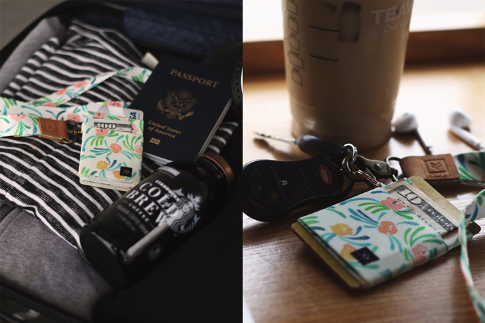 Travel Blogger, Lifestyle Blogger, College Blogger, Calpak Marble Suitcase Blog Post, Sponsored by Threadwallets, Threadwallet Elastic Wallet, Starbucks Cold Brew Bottle