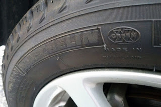 MICHELIN X-ICE XI3 155/65R14 へのタイヤ交換 MADE IN THAILAND
