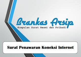 logo postingan contoh surat penawaran koneksi internet