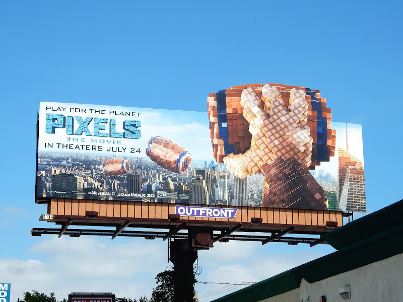 Donkey Kong Pixels The Movie billboard