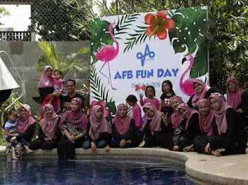 AFB Fun Day 2018 - Blogger Gathering Event Di Banglo Mewah Taj Villa Taman Zooview Ampang