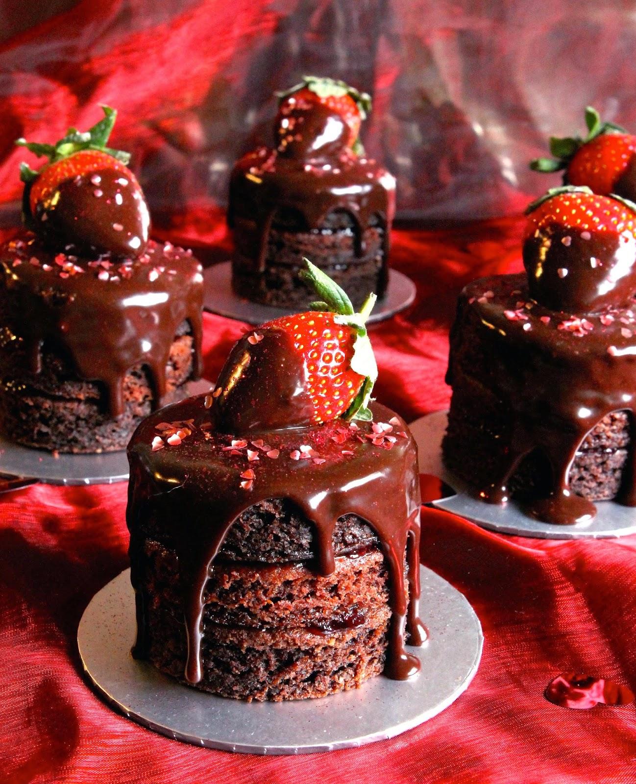 Cakes Chocolates Dark Temptations