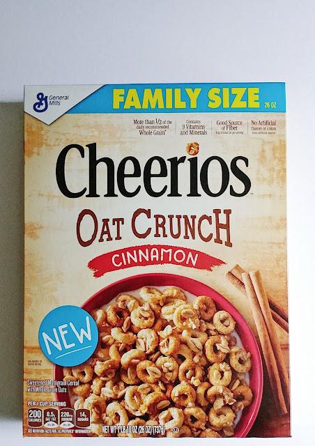 #CheeriosOatCrunch #ad @Cheerios @SheSpeaksUp @Walmart