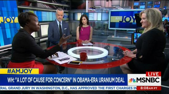 JoyAnn Reid showcases the levels of fake news of the Uranium One Story