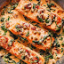Creamy Garlic Butter Tuscan Salmon #fish #dinner