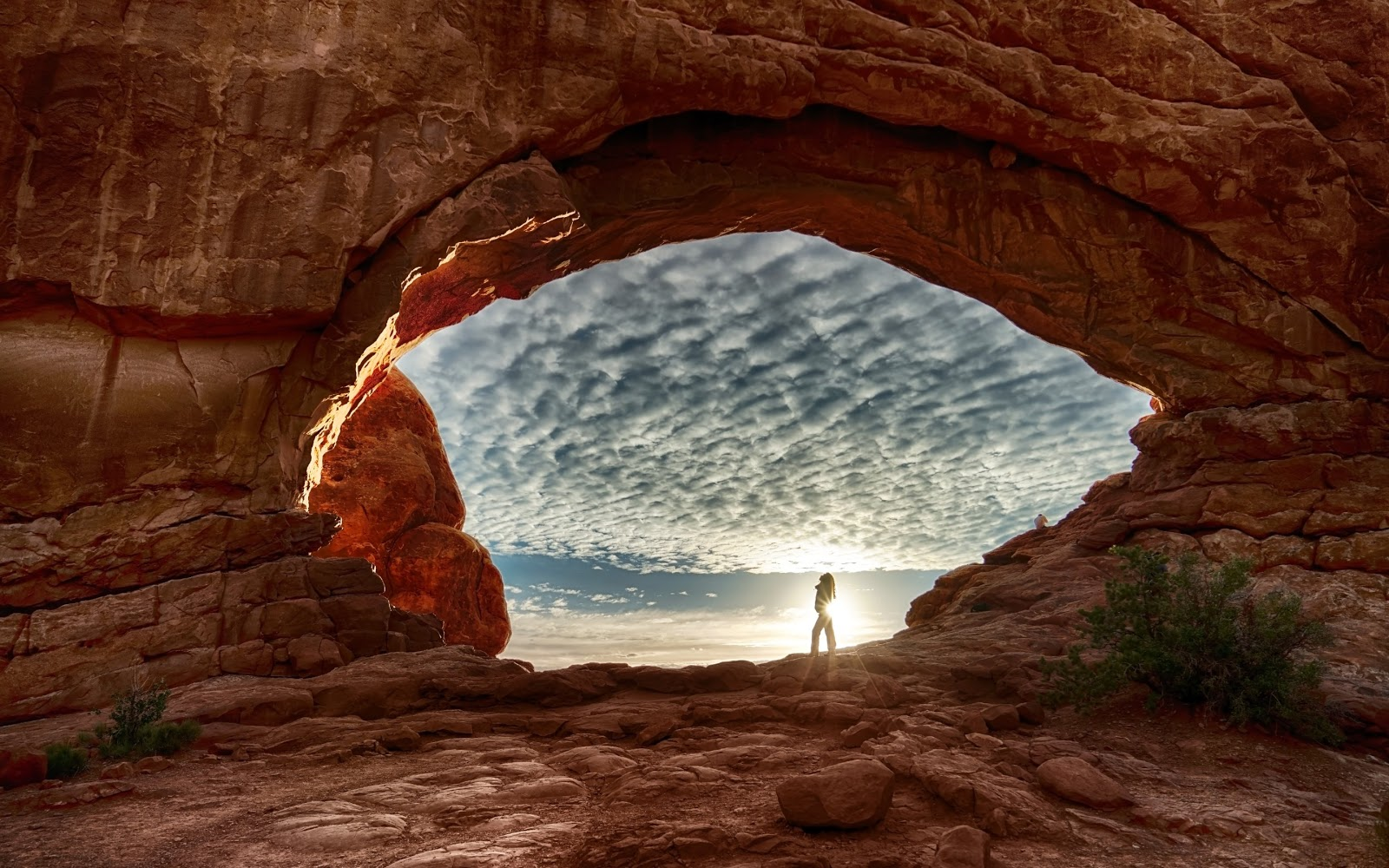 Arches National Park In Utah Mystery Wallpaper