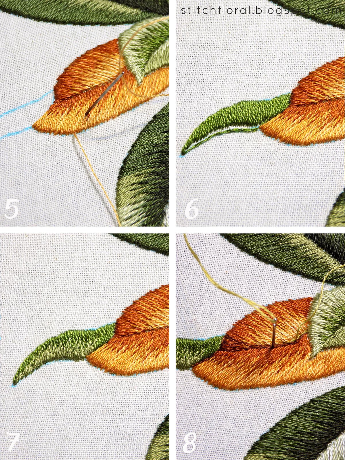 Magnolia Stitch Along Part 5