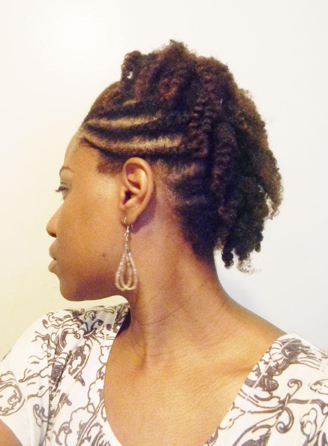 flat twist mohawk hairstyles - photo #12