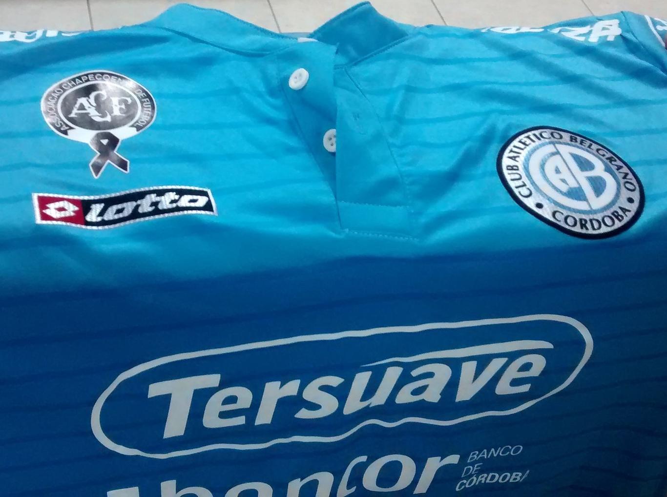 Belgrano de Córdoba homenageará a Chapecoense em sua camisa - Show ... 74eca80a13792
