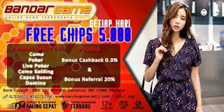 Free Chips Agen Judi Poker Online