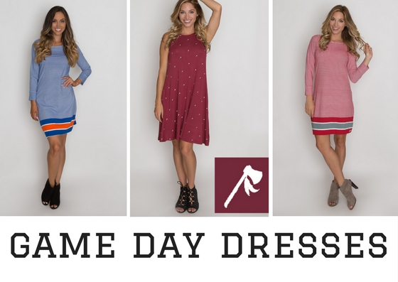 Cute dresses for game days!