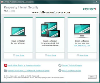 kaspersky total security 2015 activation code