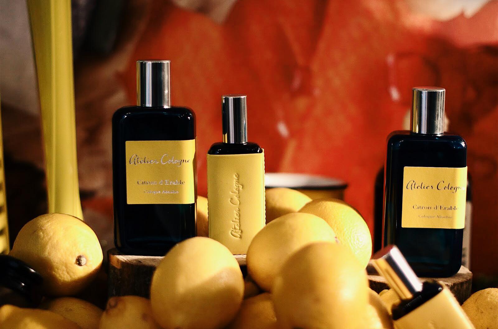atelier cologne citron d'erable parfum