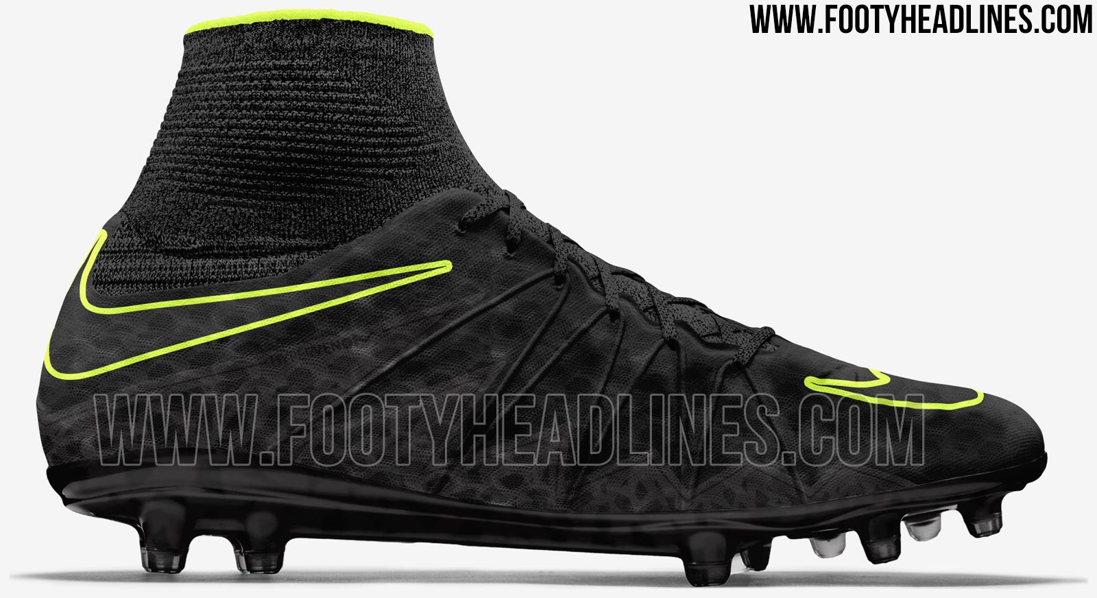 black nike hypervenom phantom ii 2016 17 boots leaked. Black Bedroom Furniture Sets. Home Design Ideas