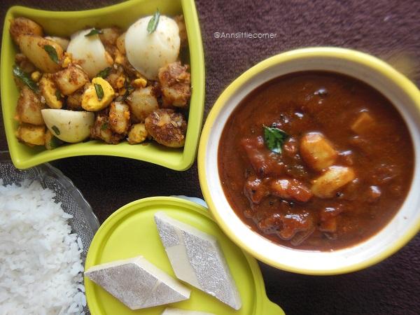 Poondu Kulambu, Poondu Puli Kulambu, Garlic Tamarind Gravy