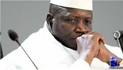 Gambia's Leader, Yahya Jammeh Goes Into Exile Today After Stepping Down
