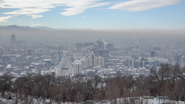 Winter in Almaty