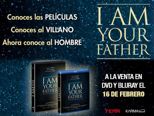 Concurso 'I am your father': Tenemos para vosotros 3 DVDs del documental