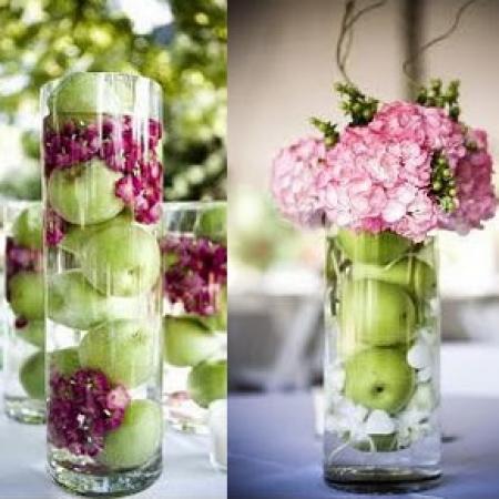 Twc deco mesa - Centros de rosas naturales ...
