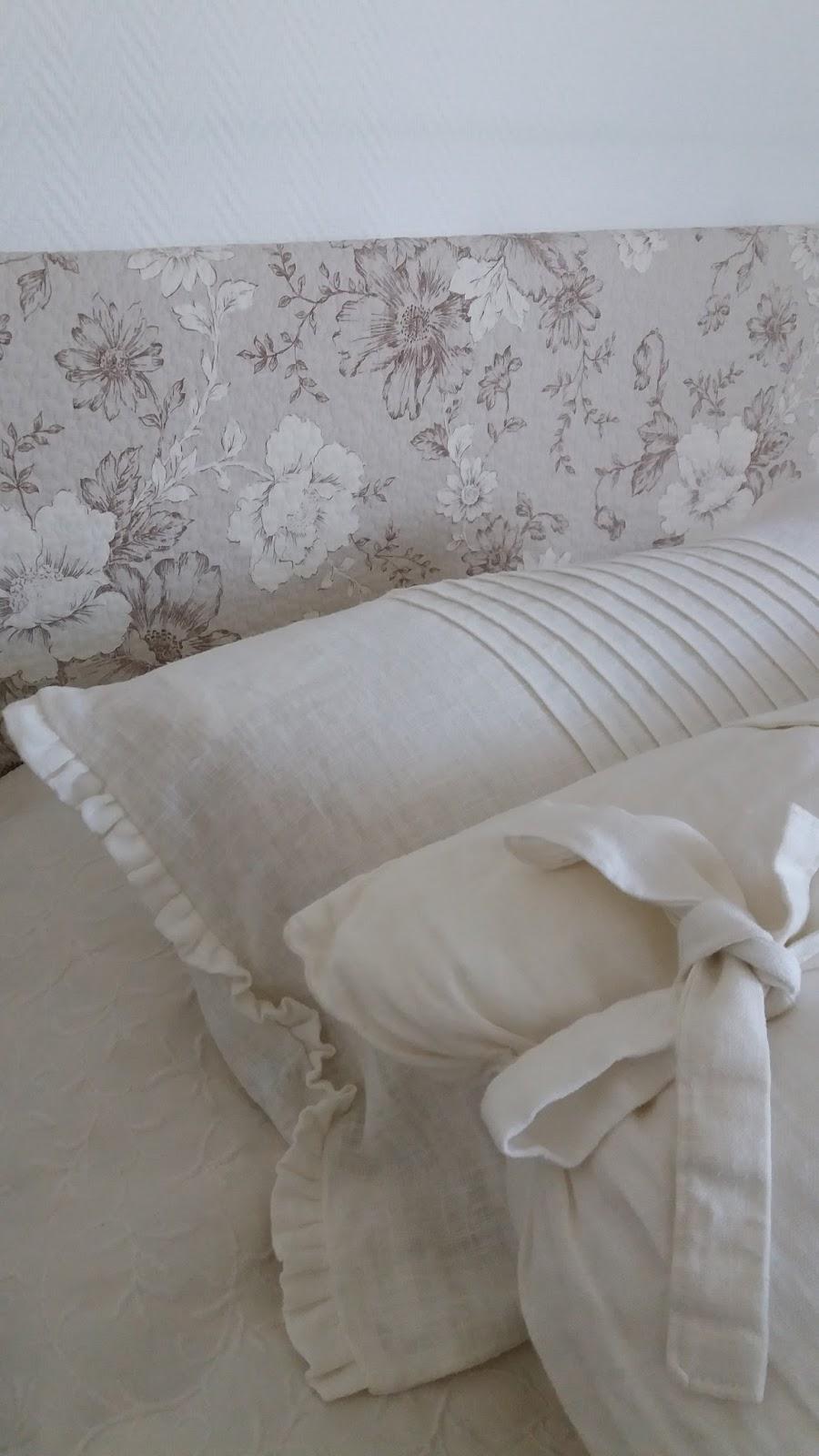 Tant vit & beige: det sker i vårt mörka sovrum...