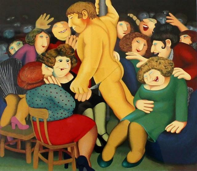 Beryl Cook - pintora e ilustradora inglesa