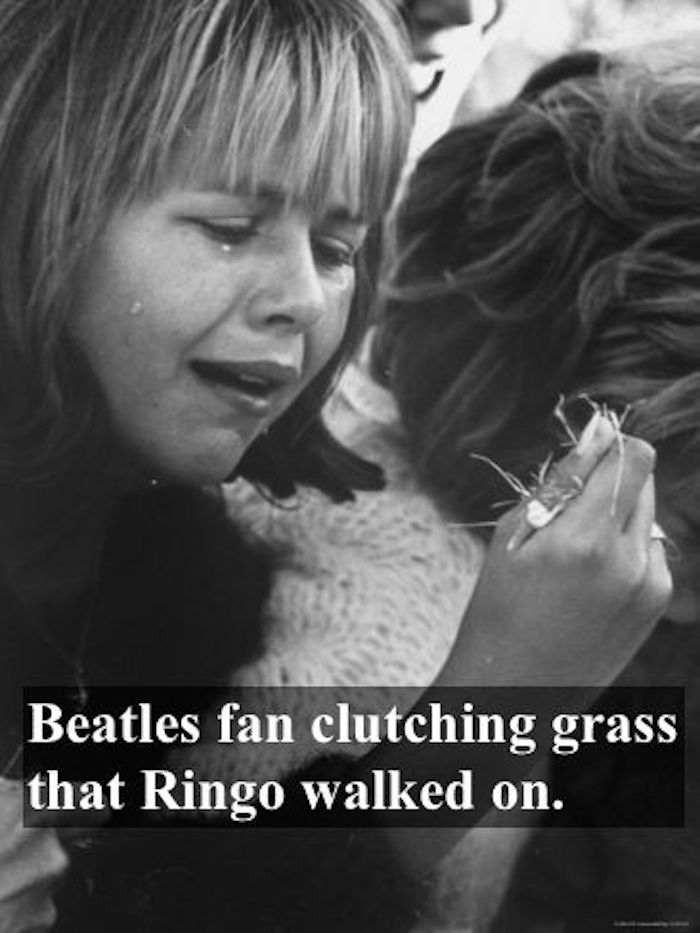 Young Beatles fan, sobbing while clutching a tuft of grass which Ringo walked on. Pirate Radio and Sealand and Other stories of Rock, Radio, and Regulations. Marchmatron.com