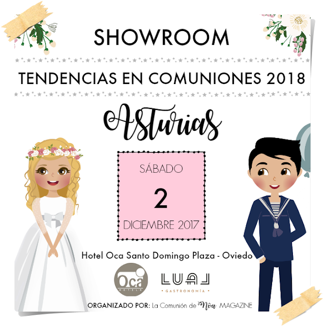 showroom tendencias comuniones 2018 asturias oviedo