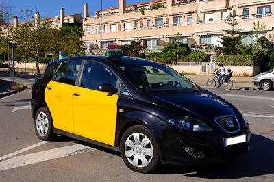 Trip Percutian ke Barcelona Teksi