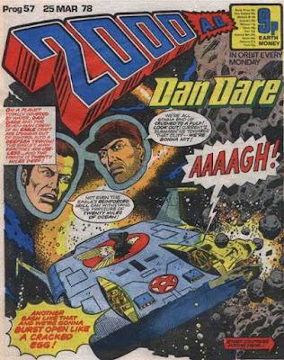 2000 AD Prog 57, Dan Dare