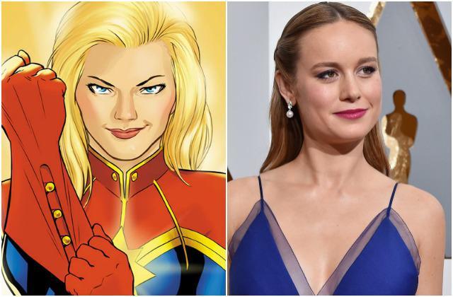 Brie Larson está cerca de convertirse en Captain Marvel