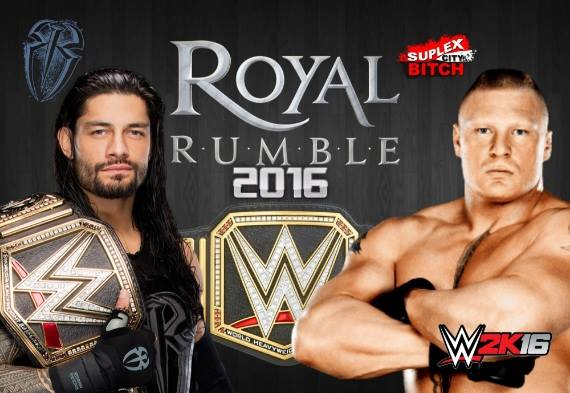WWE Royal Rumble 2016 Free Download For PC