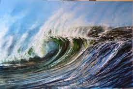 A wild sea