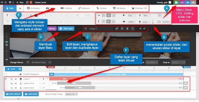 Cara Membuat Slider di WordPress Lengkap Dengan Gambarnya