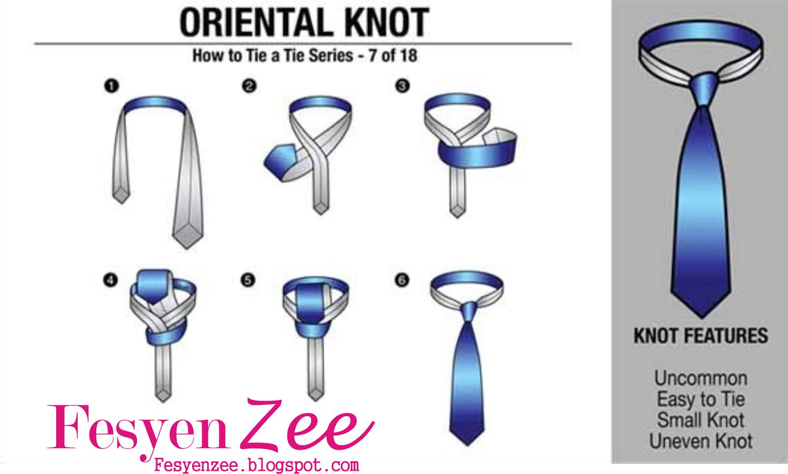 Cara memakai dasi atau membuat simpul dasi pria mudah dan praktis.