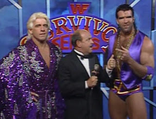 WWF (WWE) SURVIVOR SERIES 1992 - RAZOR RAMON & RIC FLAIR