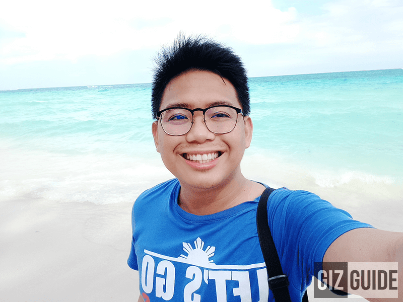 Daylight selfie w/ beautify level 3