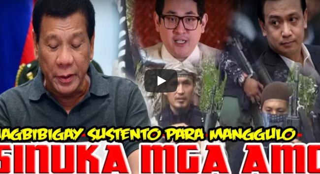 Binulgar mga Amo ng Maute mga Politiko Nagsusustento sa Kanila