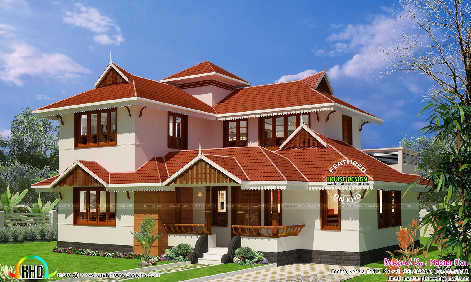 Kerala traditional home at bengaluru kerala home design for Kerala traditional home plans
