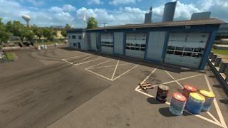 ets2 mods, recommendedmodsets2, Frkn64's Modern Garage Mod, euro truck simulator 2 mods, ets2 realistic mods, ets 2 modern garage mod v1.3 screenshots4
